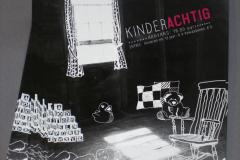 Flyer voorstelling 'Kinderachtig' - VRIJDAG (voorheen Prinsentheater)